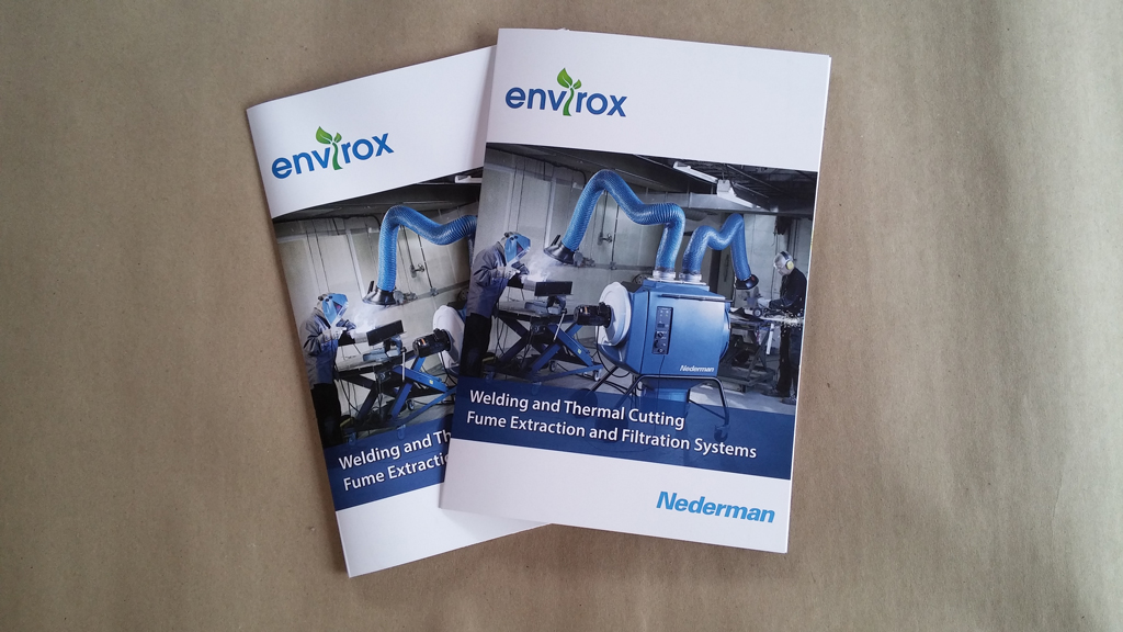 Digitally Printed 3 fold A4 brochure
